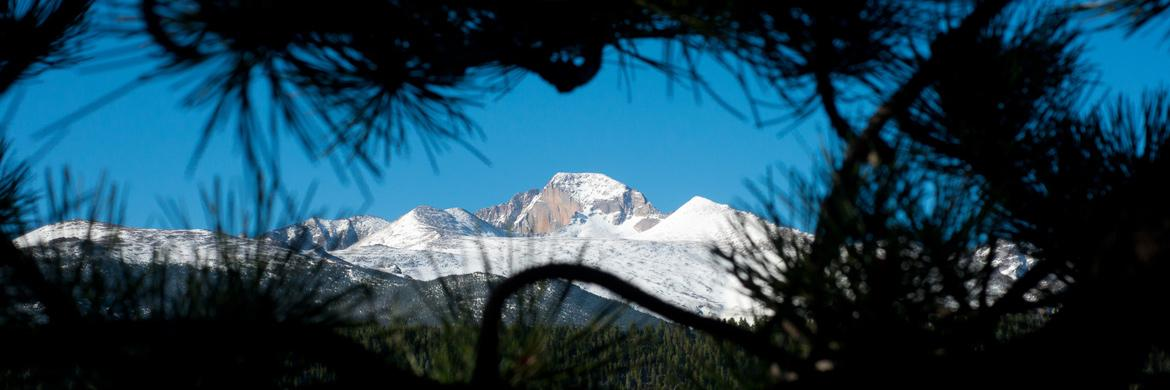 Longs Peak in Rocky Mountain National Park, Colorado